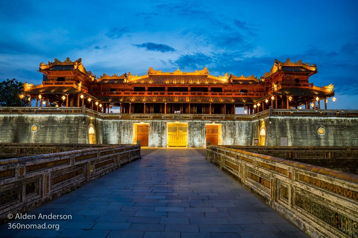 Full day in Hue Ancient city tour from Chan May Port